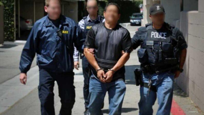자료사진 | 미국 이민세관단속국