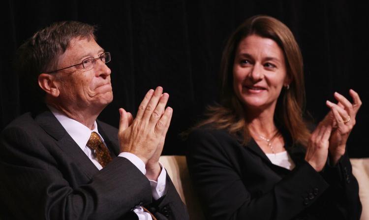 빌 게이츠(왼쪽)와 아내 멀린다 게이츠 | Win McNamee/Getty Images