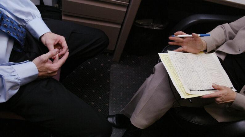 구직자가 면접을 보는 모습(기사와 무관한 사진) / Getty Images