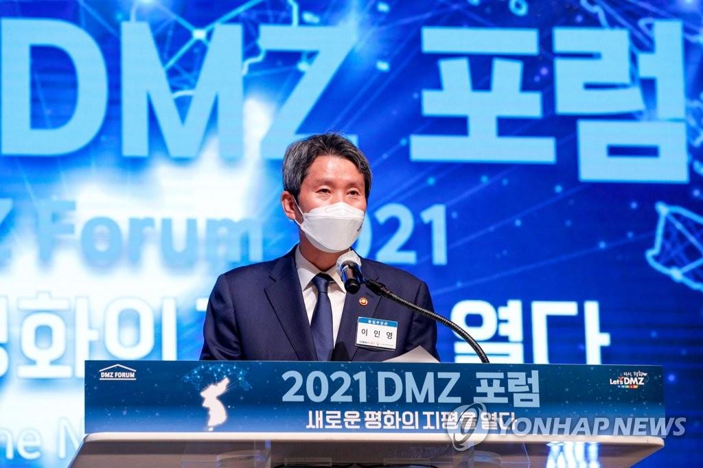 """이인영 통일부 장관 """"한미정상회담, 북미대화·남북협력 새 여건 마련되길"""""""