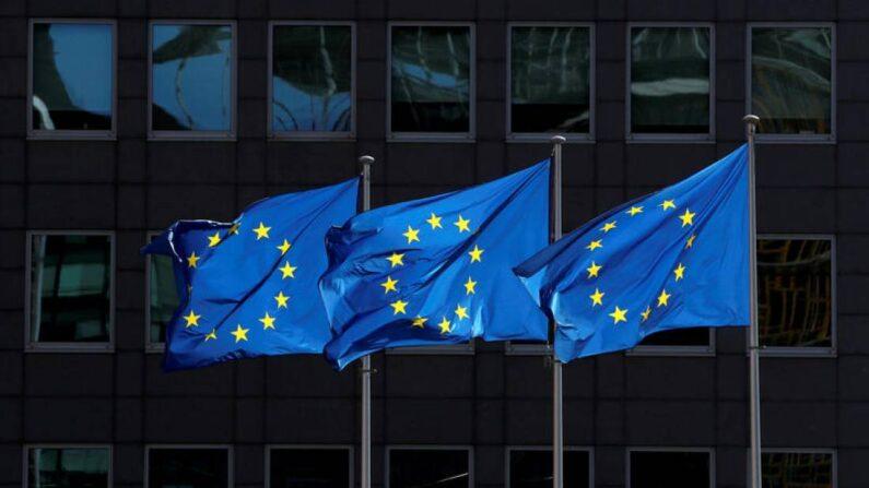 벨기에 수도 브뤼셀의 유럽연합(EU) 본부 앞에서 유럽연합기가 펄럭이고 있다. | 로이터=연합뉴스