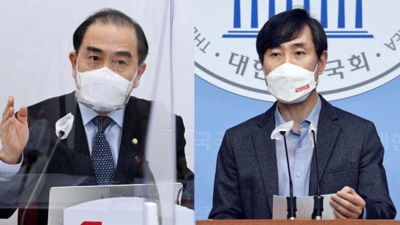 사진-연합뉴스 | (좌)태영호 국민의힘 의원 / (우)하태경 국민의힘 의원