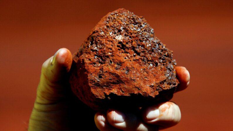호주 광산에서 캐낸 철광석 덩어리. | 로이터/연합뉴스