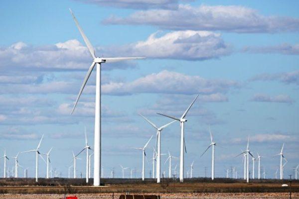 기사와 직접 관련 없는 자료 사진 | 텍사스주 콜로라도의 한 풍력발전소 풍력터빈. Spencer Platt/Getty Images