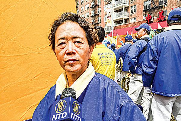 베이징이 파룬궁 수련자 쿵웨이징(孔維京)은 1999년 '4.25 평화청원'에 참여했고, 주룽지(朱鎔基) 당시 총리를 따라 신방국(信訪局)에 들어가 상황을 반영했다. | 에포크타임스 DB