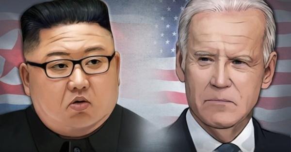 왼쪽부터 김정은 북한 국무위원장, 조 바이든 미국 대통령 (PG) 홍소영 제작 일러스트/사진=연합뉴스