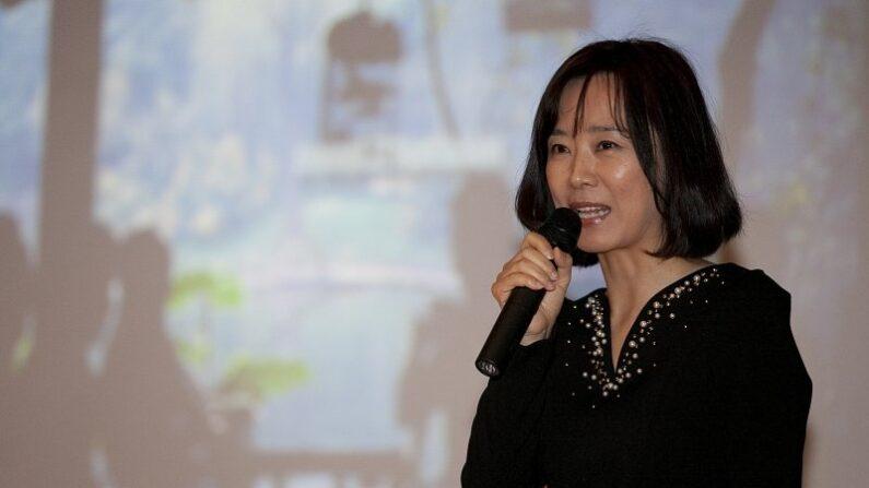 중국 공산당 기관지 인민일보 산하 인민망 한국대표처 대표 저우위보(周玉波·주옥파)   군산시 제공