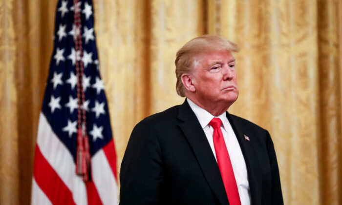도널드 트럼프 전 미국 대통령. 2018.8.20 | Samira Bouaou/The Epoch Times