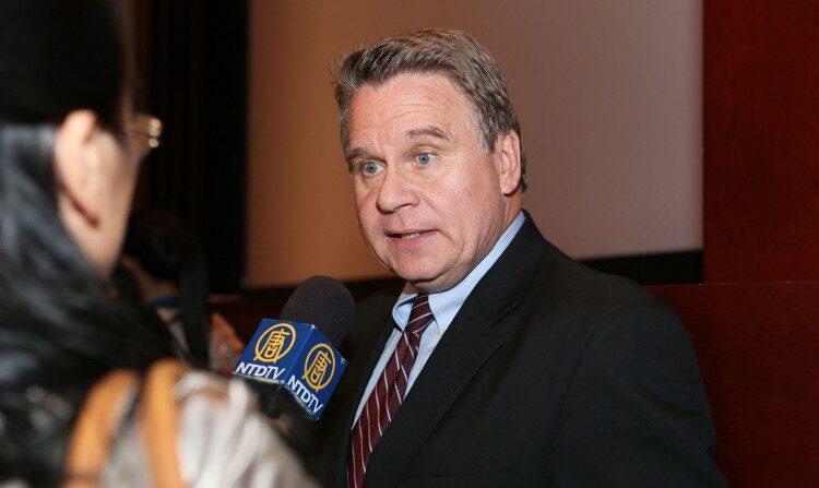 미국 공화당 소속 크리스 스미스 하원의원   에포크타임스