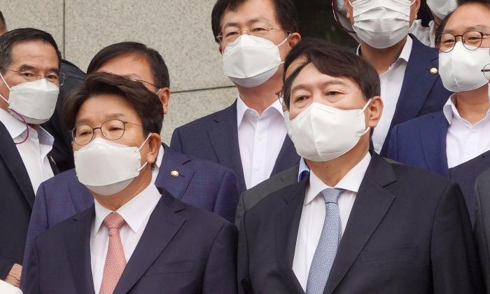 29일 윤석열 전 검찰총장이 대통령 선거 출마를 공식 선언했다.   이유정/에포크타임스