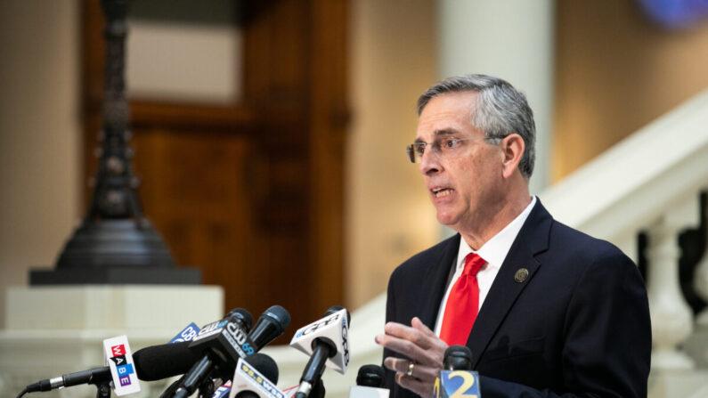 브래드 라펜스퍼거 미 조지아주 국무장관 | Jessica McGowan/Getty Images