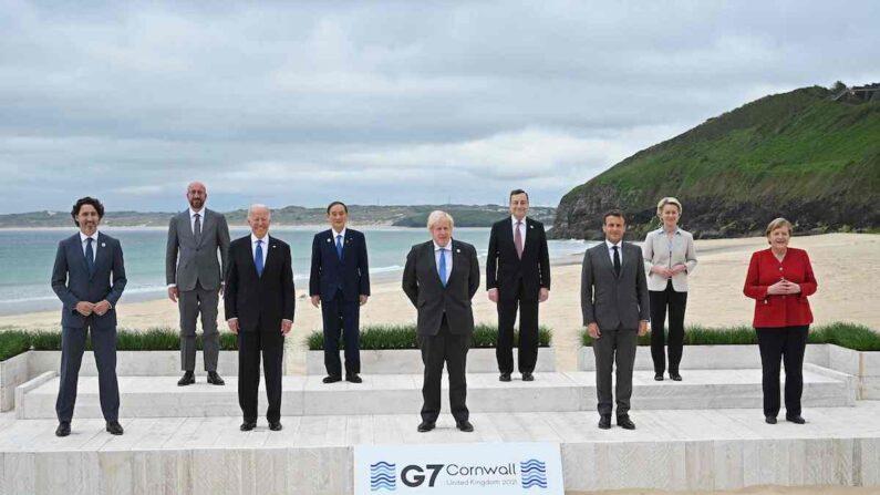 G7 정상들 | AFP/연합뉴스