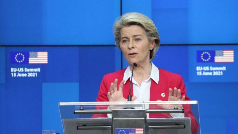 우르술라 폰 라이엔 유럽연합(EU) 집행위원장 | KENZO TRIBOUILLARD/AFP via Getty Images/연합