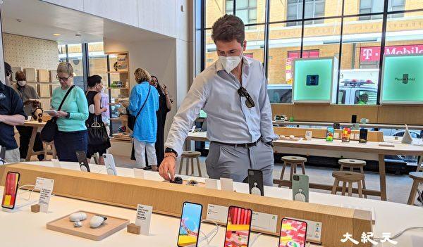 세계 첫 오프라인 '구글 스토어' 뉴욕에 개장…체험형 공간 호평