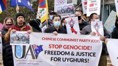 세계 50개 도시서 '올림픽데이' 맞아 베이징 동계올림픽 보이콧 시위