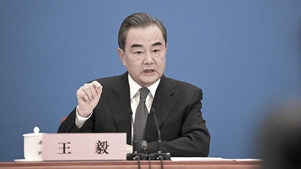 왕이 중국 외교부장 | 연합뉴스