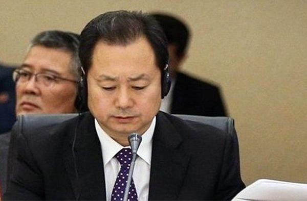 둥징웨이 중국 국가안전부 부부장(차관)   웨이보
