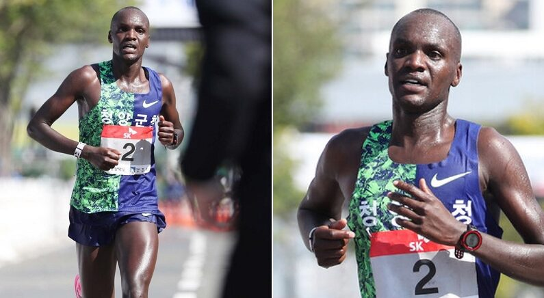 도쿄올림픽에서 가슴에 태극마크 달고 42.195km를 달릴 대한민국 선수 오주한
