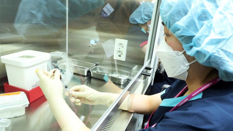 코로나19 화이자 백신 접종을 위한 합동 모의훈련(21.03.09)ㅣ질병관리청 제공