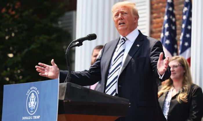 도널드 트럼프 전 미국 대통령. 2021.7.7 | Michael M. Santiago/Getty Images