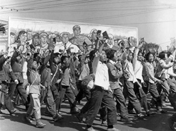 문화대혁명 당시 악명 높았던 홍위병 1966.6.1   JEAN VINCENT/AFP/Getty Images/연합