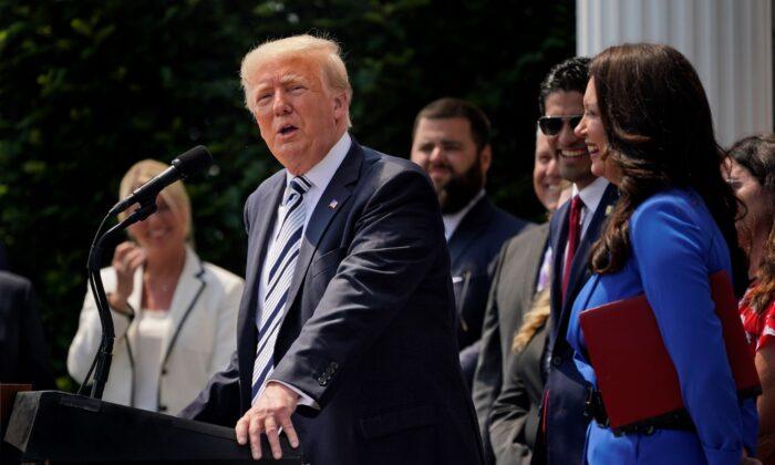 도널드 트럼프 전 미국 대통령. 2021.7.7 | Seth Wenig/AP Photo/ 연합