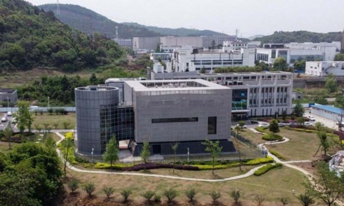 2020년 4월 17일 중국 우한바이러스연구소 P4 실험실의 조감도.   HECTOR RETAMAL/AFP via Getty Images