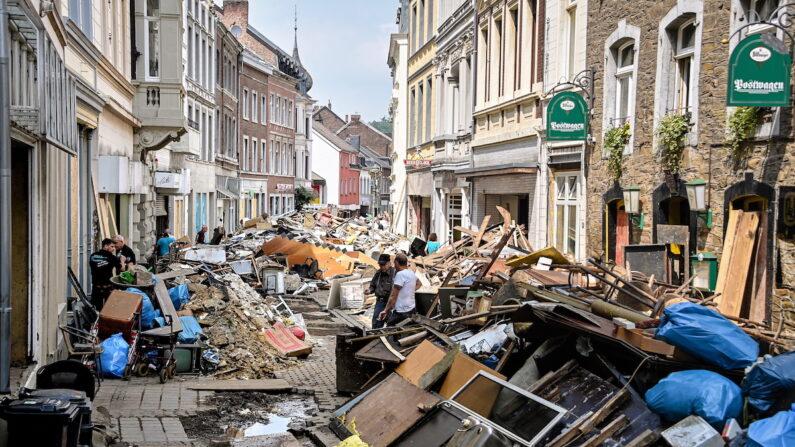 독일 아헨의 홍수 피해 현장   EPA/연합뉴스