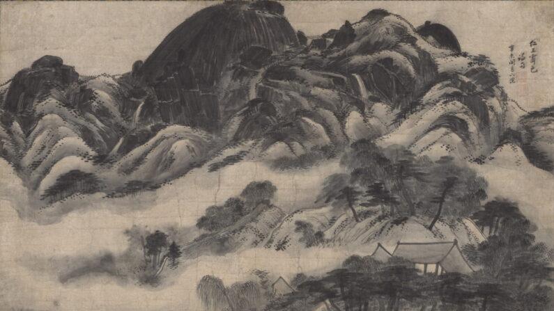 '인왕제색도'(국보 제216호)   국립중앙박물관 제공