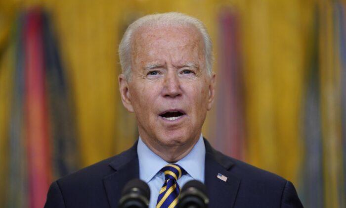 조 바이든 미국 대통령. 2021.7.8   Evan Vucci/AP Photo/ 연합