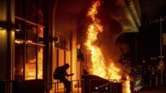 """전미경찰협회 """"의회 난입사태 대신 BLM 폭동 조사해야"""""""