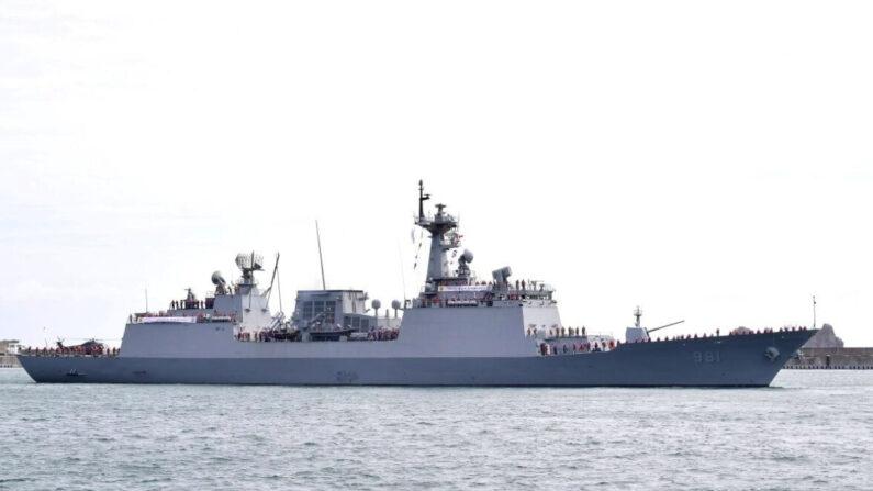청해부대 출항 환송식 모습(2020.9) | 해군 제공