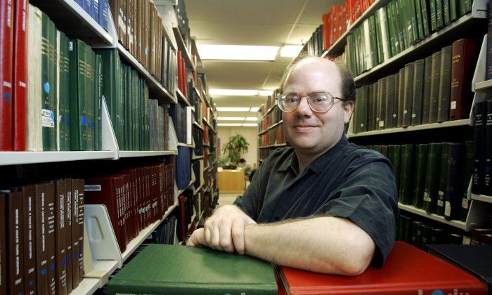 위키백과(위키피디아) 공동 창업자인 래리 생어. 2007.3.26 | AP Photo/Kiichiro Sato/ 연합