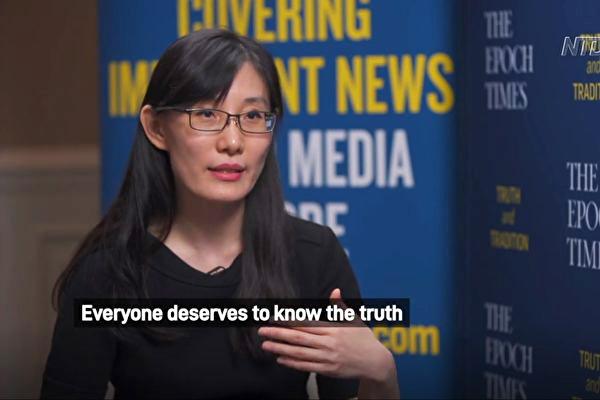 홍콩에서 미국으로 탈출한 바이러스 전문가 옌리멍 박사. | 에포크타임스