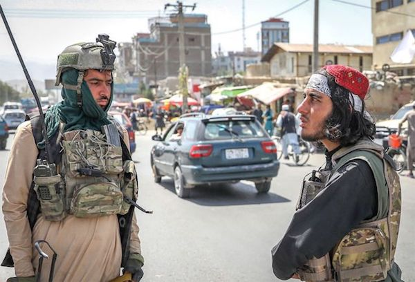 16일 카불 시내 모습   카불=EPA/연합
