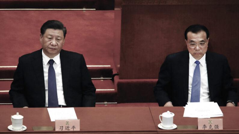 시진핑 중국 공산당 총서기 겸 중국 주석(좌)과 리커창 중국 국무원 총리   UPI/연합뉴스
