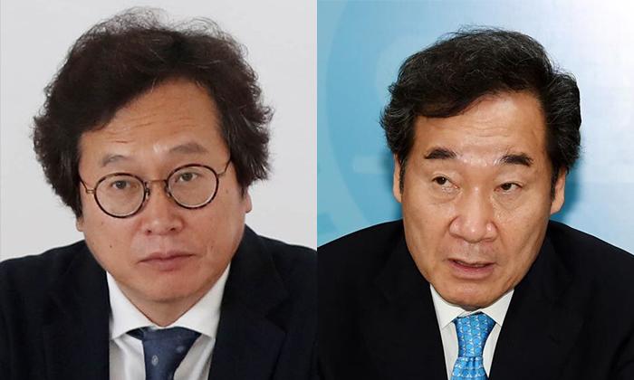 [좌] 맛 칼럼니스트 황교익 [우] 이낙연 더불어민주당 경선 후보 | 연합뉴스