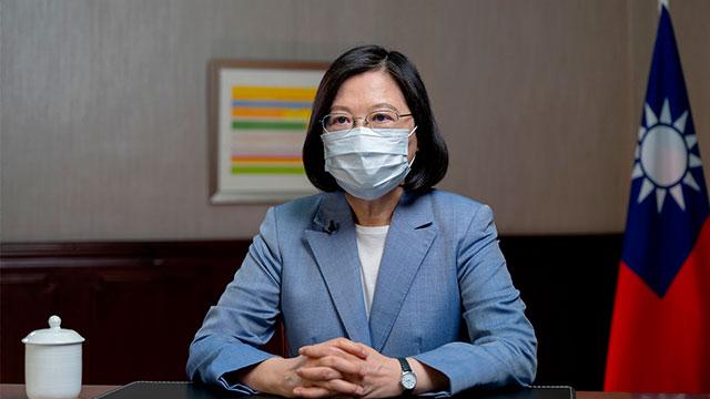 차잉이원 대만 총통   대만 총통부 제공/AFP/연합