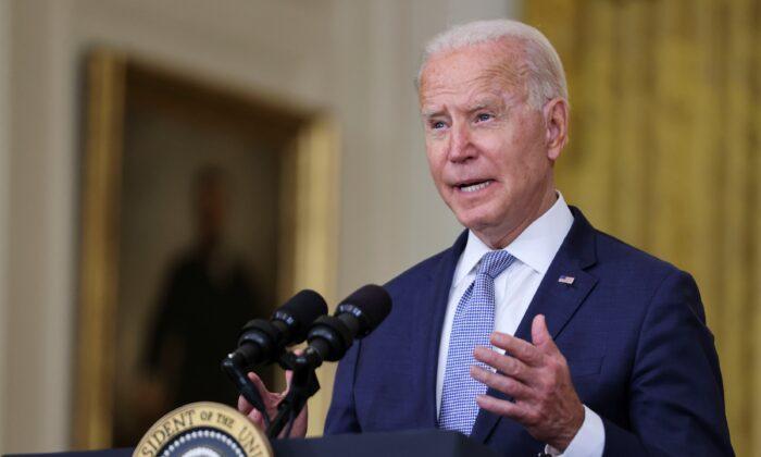 조 바이든 미국 대통령. 2021.8.12 | Evelyn Hockstein/Reuters/ 연합