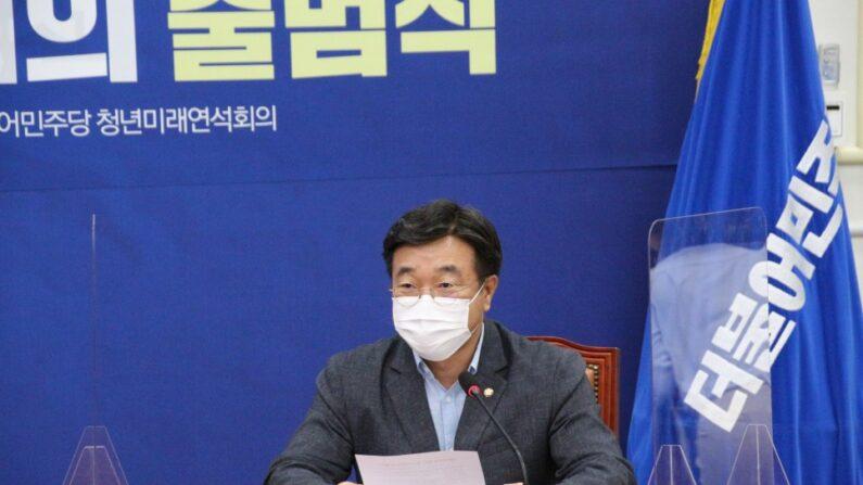 더불어민주당 윤호중 원내대표ㅣ윤호중 의원실 제공