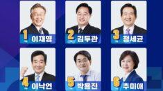 與, 대선 경선 투표 시작…첫 집결지는 '대전·충남'