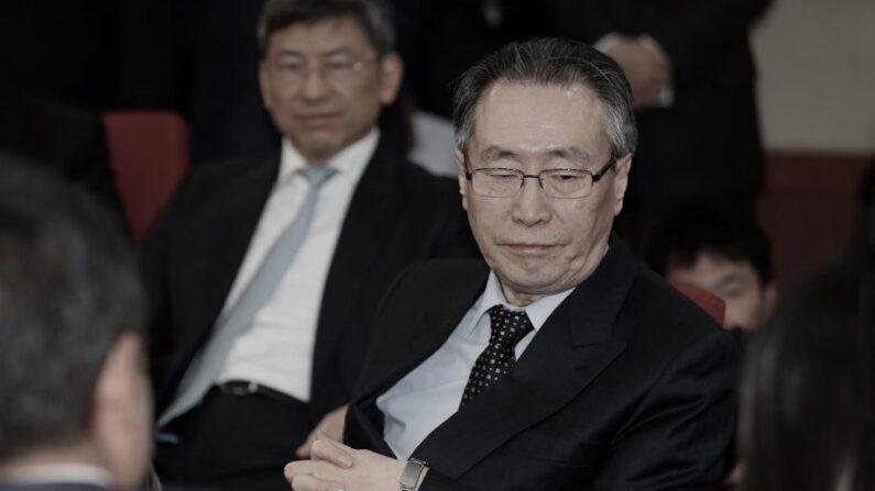우대웨이 전 주한 중국대사(오른쪽) | 연합뉴스