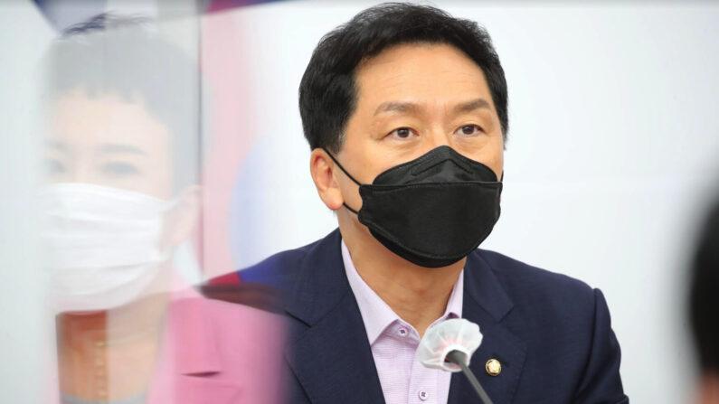 30일 국민의힘 최고위원회의에서 김기현 원내대표가 발언하고 있다 | 국민의힘 제공