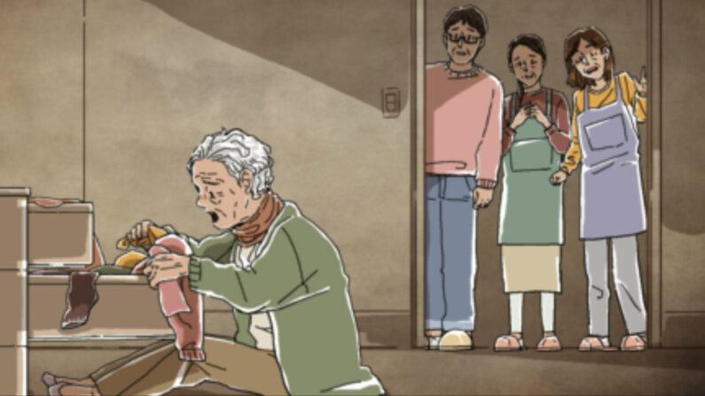 국민건강보험 노인장기요양보험 홍보 동영상 캡쳐