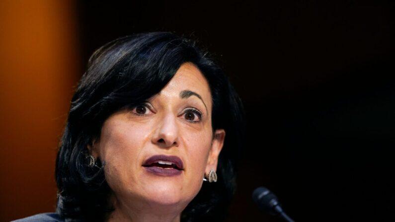 로셸 월렌스키 미국 질병통제예방센터(CDC) 국장   Susan Walsh/Pool/AFP via Getty Images/연합