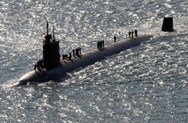 미국의 핵추진 잠수함 노스캐롤라이나호   연합뉴스