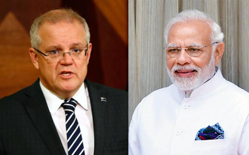 호주-인도, 中 압박 맞서 광물 무역 합의...저탄소 기술도 공유