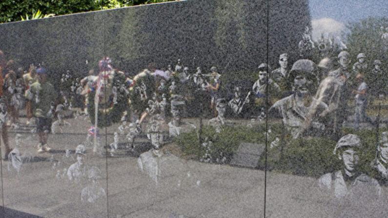 미국 수도 워싱턴DC에 설치된 한국전 참전용사 기념비 | 에포크타임스