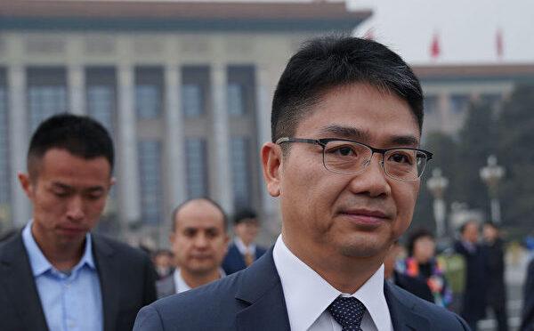 류창둥(劉强東) 징둥닷컴 회장(우) | Lintao Zhang/Getty Images