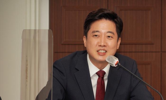 이준석 국민의힘 대표   이유정/에포크타임스